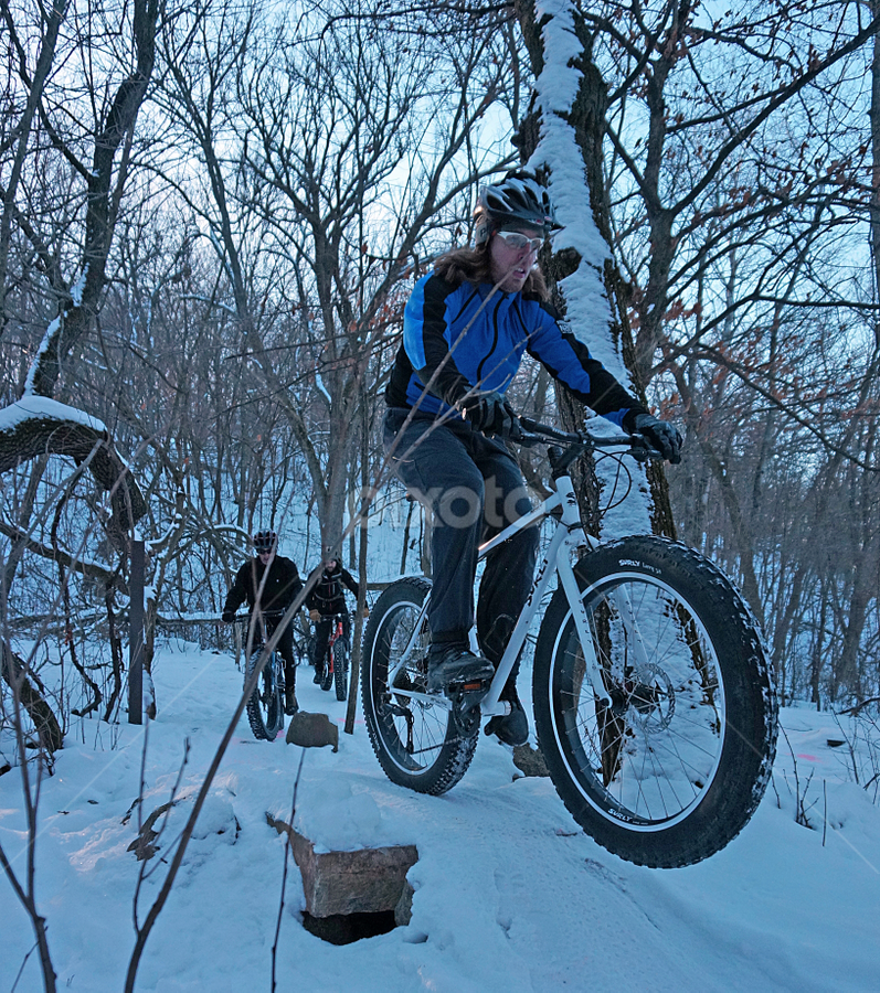 Snow Biking by Gary Amendola - Sports & Fitness Cycling (  )