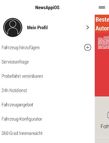 MEIN SEAT Screenshot