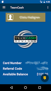 TeamCash - screenshot