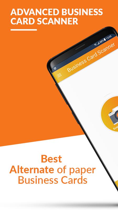 Business Card Scanner & Reader - Free Card Reader Screenshot 0