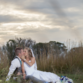 Time apart from the noise by Lodewyk W Goosen-Photography - Wedding Bride & Groom ( love, wedding photography, lwg photo, weddings, wedding photos, bride and groom )