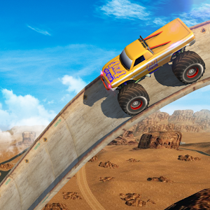 Vertical Ramp - Monster Truck Extreme Stunts For PC (Windows & MAC)