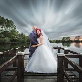 Tranquility by Paul Eyre - Wedding Bride & Groom ( nottingham wedding photographer, married, wedding, couple, marriage )