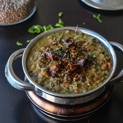 Whole Green lentil recipe/ Punjabi Sabut Moong Dal