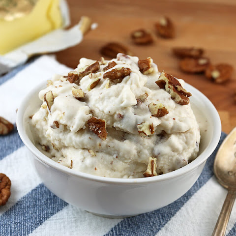 Brown Butter Pecan Keto Ice Cream