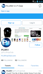 PLUR® V.I.P Club - screenshot