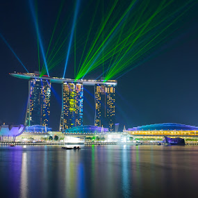 Marina bay sands by Vincentius Dedy Angsana - Buildings & Architecture Office Buildings & Hotels ( singapore, marina bay, city )