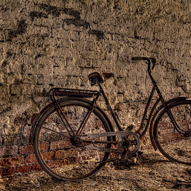 Abandoned Treasure by Bojan Bilas - Transportation Bicycles ( bike, barn, finland, abandoned, bicycle )