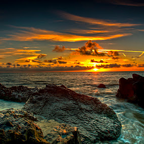 Sunrise by Alnor Prieto - Landscapes Sunsets & Sunrises