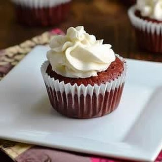 Gluten-Free, Sugar-Free Red Velvet Cupcakes With Sugar-Free Cream Cheese Frosting