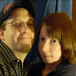 Myself and the love of my life, My Husband by Danielle Cagle - People Couples