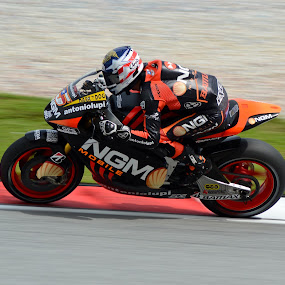 Colin Edwards NGM Forward Racing Team by Mohd Hisyam Saleh - Sports & Fitness Motorsports ( ngm, forward, racing, edwards, colin )