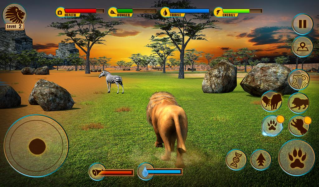 Ultimate Lion Adventure 3D Screenshot 13