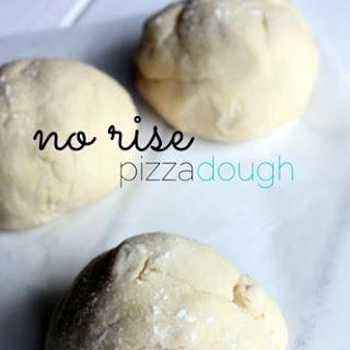 No Rise Pizza Dough Recipes