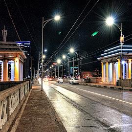 by Steel Hero - City,  Street & Park  Night