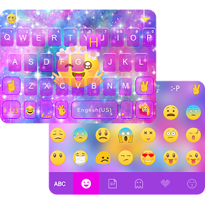 Cute Emoji Theme for iKeyboard
