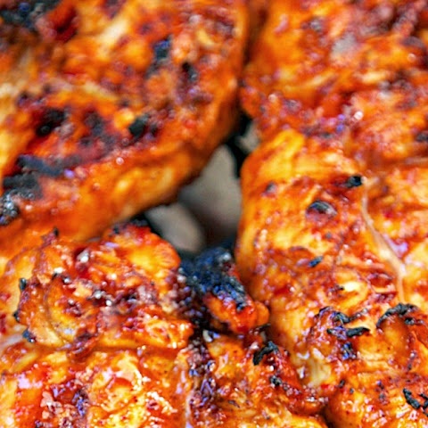 Sweet and Spicy Italian BBQ Grilled Chicken