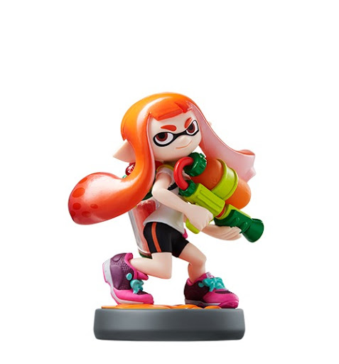 Inkling Girl - Splatoon series