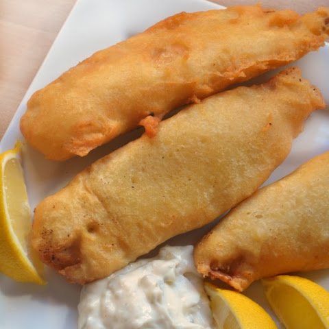 Lemon Battered Fish
