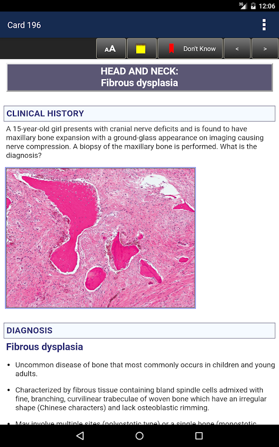 Anatomic Pathology Flashcards Screenshot 19
