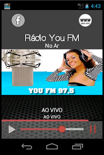 You FM Rádio - screenshot