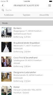 Shop-Finder - screenshot