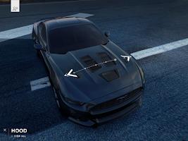 Screenshot of 2014 Mustang Customizer