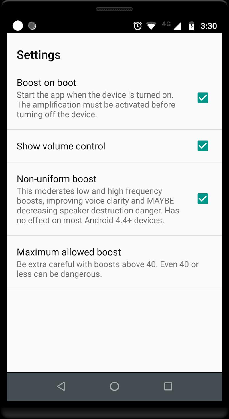 Volume Booster GOODEV Screenshot 3