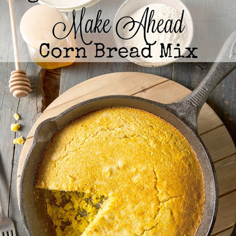 Sugar and Gluten Free Make Ahead Corn Bread Mix