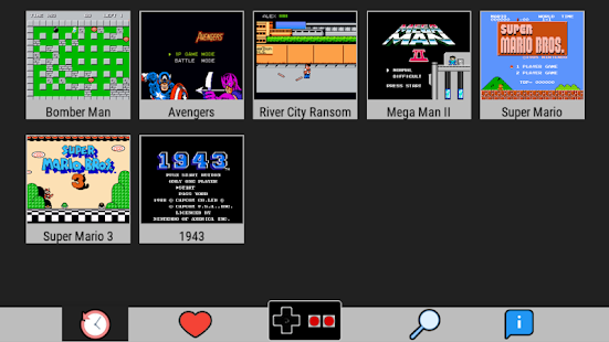 NES Emulator - Arcade Games (Full and Free Games)