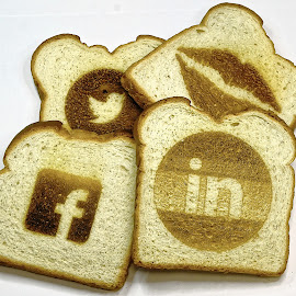 Kiss regular toast goodbye by Marvin Hurlston - Food & Drink Cooking & Baking ( social toast, designer toast, laser toast, slices of bread, toast )