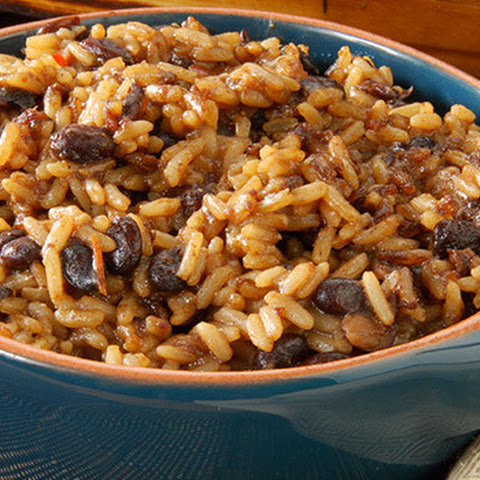 Baja Black Beans and Rice