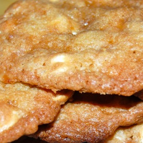 White Chocolate – Toffee Crunch Cookies