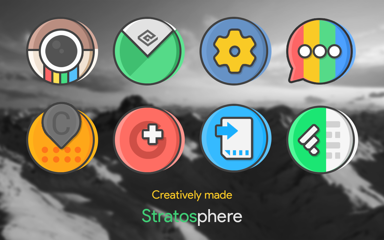 Stratos - Icon Pack Screenshot 0