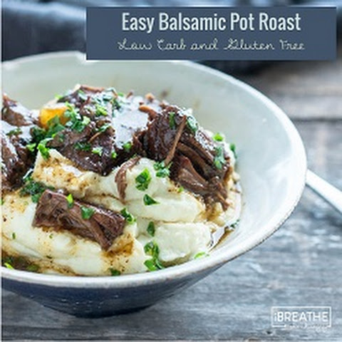 Easy Balsamic Beef Pot Roast