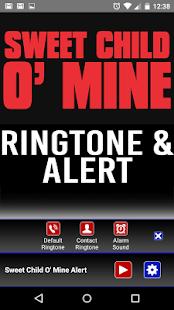 Sweet Child O Mine Ringtone und Alert android apps download