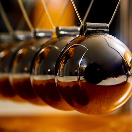 Newton's Cradle by Lisa Chilton - Abstract Macro (  )
