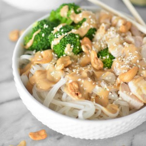 Chicken and Broccoli Noodle Bowls