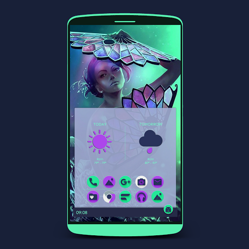 Zai3 Weather Komponents Kustom Screenshot 7