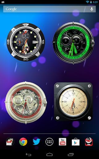 Analog Clock Wallpaper/Widget screenshot 19