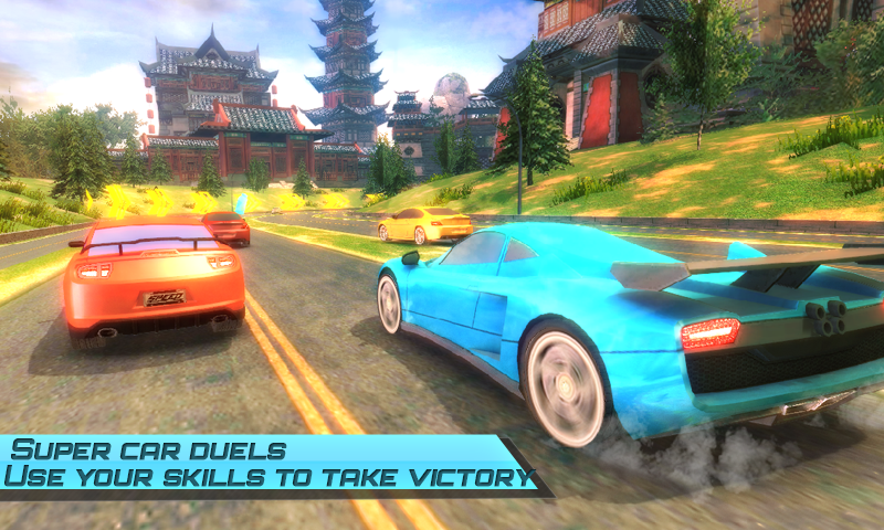 Drift car city traffic racer Screenshot 2