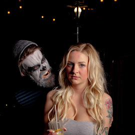 Scary by Brad Chapman - People Couples ( 2016, photoshoot, bar, group shoot )