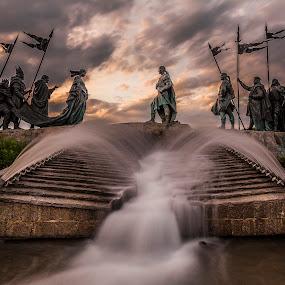 by Thomas Berwein - City,  Street & Park  Fountains