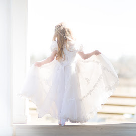 Nanas wedding dress by Kellie Jones - Babies & Children Children Candids