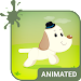 Cute Dog Animated Keyboard + Live Wallpaper Icon