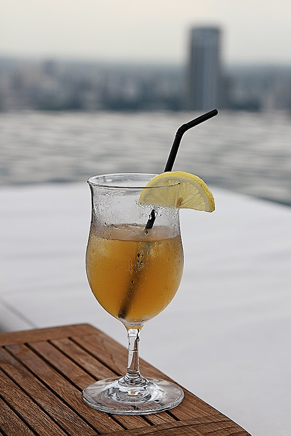 Ice Lemon Tea by Andre Chandra - Food & Drink Alcohol & Drinks