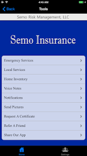 Semo Insurance Agency - screenshot
