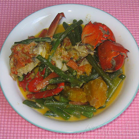 Ginataang Alimango/ Crabs in Coconut Milk