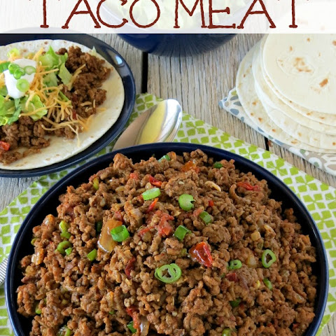 Homemade Seasoned Taco Meat