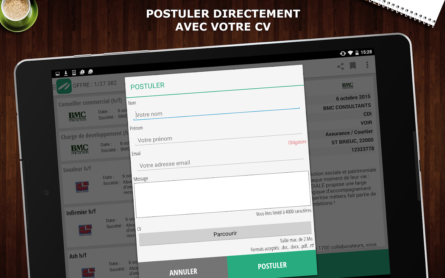 Keljob : Emploi, Job et Stage Screenshot 10